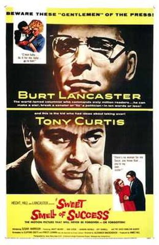 The Sweet Smell of Success Movie Poster Print