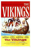 The Vikings Movie Poster Print