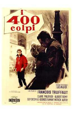 400 Blows Movie Poster Print