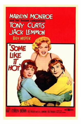 Some Like it Hot, c.1959 - style A Movie Poster Print