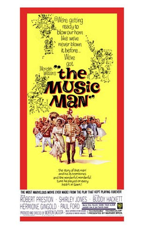 The Music Man Movie Poster Print