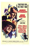 The Man Who Shot Liberty Valance Movie Poster Print