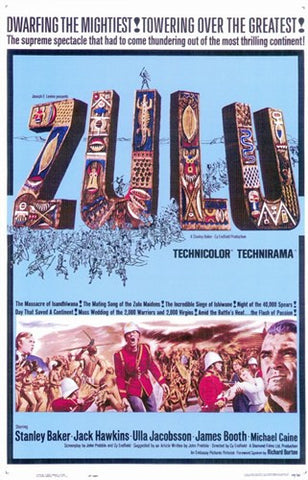 Zulu Movie Poster Print