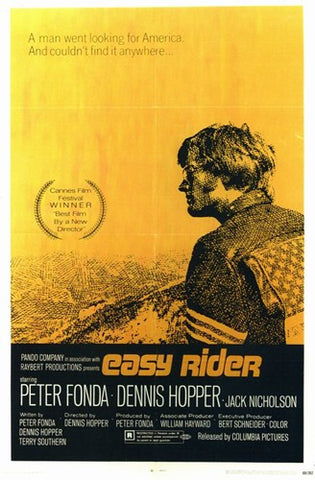 Easy Rider Movie Poster Print