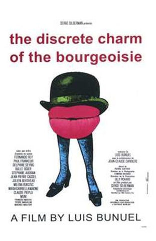 The Discreet Charm of the Bourgeoisie Movie Poster Print