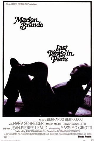 Last Tango in Paris Movie Poster Print