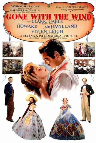Gone with the Wind Movie Poster Print