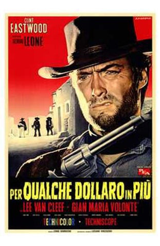 for a Few Dollars More Movie Poster Print