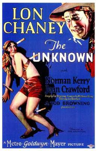 The Unknown Movie Poster Print