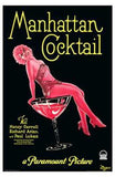 Manhattan Cocktail Movie Poster Print
