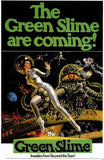 Green Slime Movie Poster Print