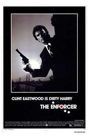 The Enforcer Movie Poster Print