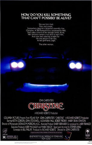 Christine Movie Poster Print