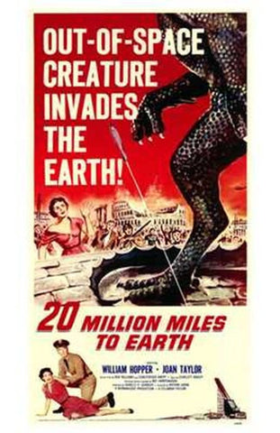20 Million Miles to Earth Movie Poster Print