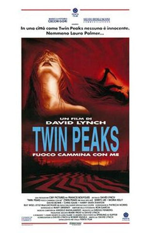 Twin Peaks: Fire Walk with Me Movie Poster Print