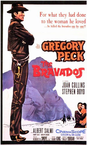 The Bravados Movie Poster Print