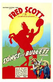 Songs and Bullets Movie Poster Print