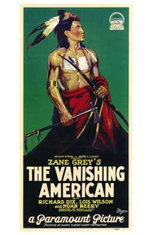 The Vanishing American Movie Poster Print