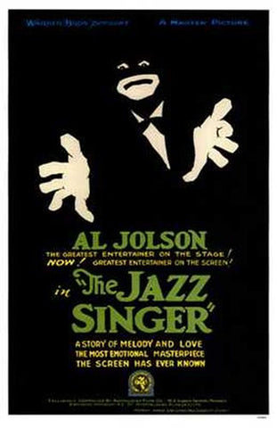 The Jazz Singer Movie Poster Print