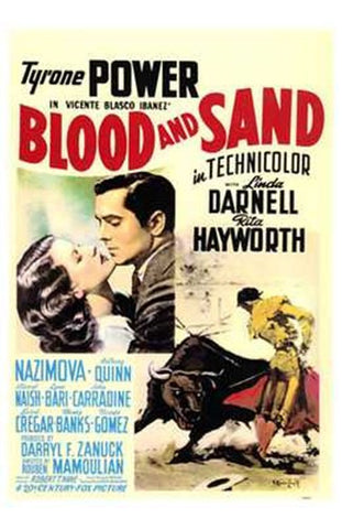 Blood and Sand Movie Poster Print