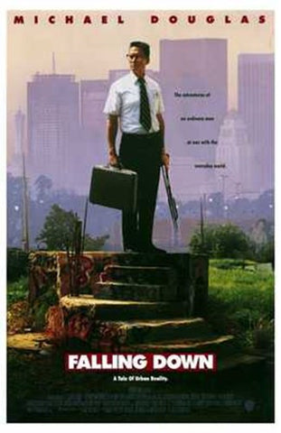 Falling Down Movie Poster Print