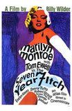 The Seven Year Itch Movie Poster Print