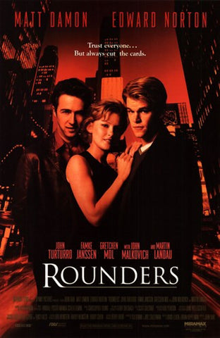Rounders Movie Poster Print