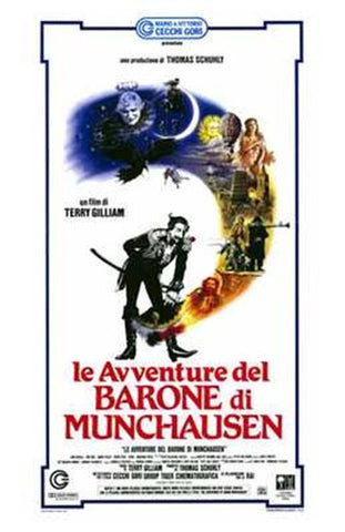 The Adventures of Baron Munchausen Movie Poster Print
