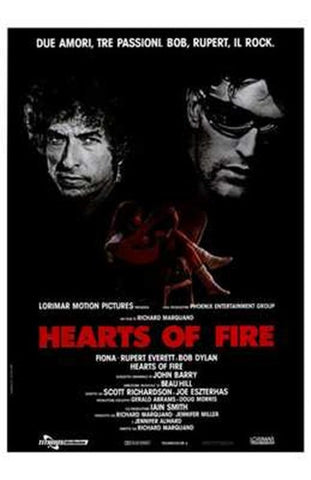 Hearts of Fire Movie Poster Print