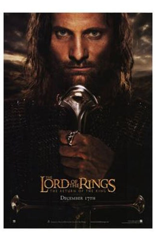 Lord of the Rings: Return of the King Movie Poster Print