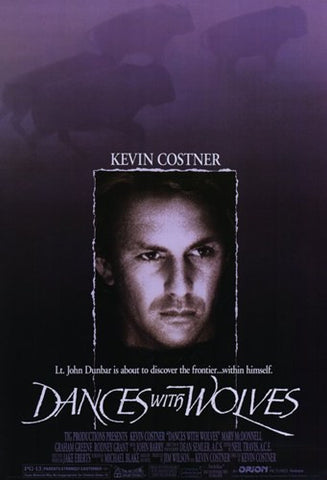 Dances with Wolves Movie Poster Print