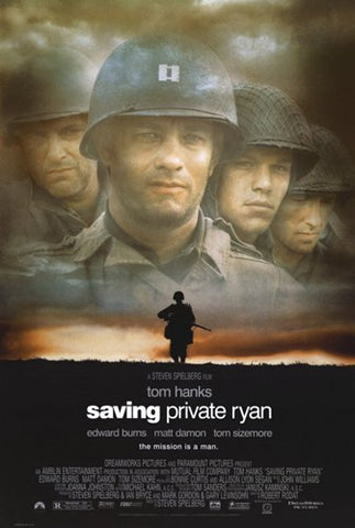 Saving Private Ryan Movie Poster Print