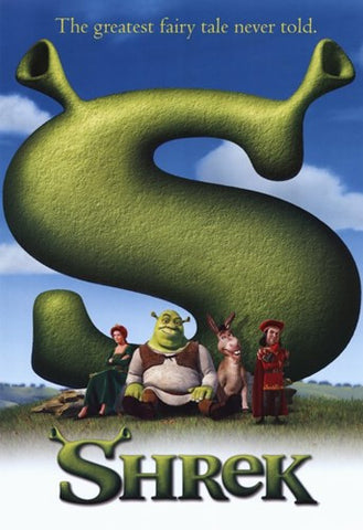 Shrek Movie Poster Print