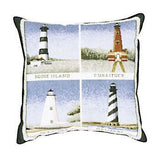 "Pillow - 18"" Lighthouses   Pillow"