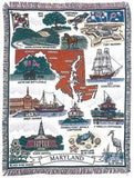 Tapestry - Maryland (Land Of Pleasant) Throw
