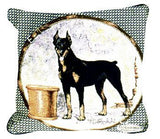 "Pillow - Doberman 18"" Pillow"