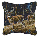 "Pillow - Whitetail Morning 18"" Pillow"