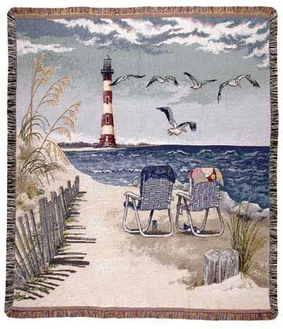 Tapestry - Seaside Escape Throw