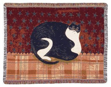 Mini Tapestry - Fat Cat Throw