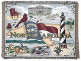 Tapestry - State Of North Carolina Throw