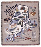 Tapestry - Retro Maine Throw