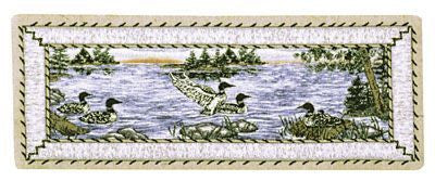 Table Runner - Loons       Tablerunner