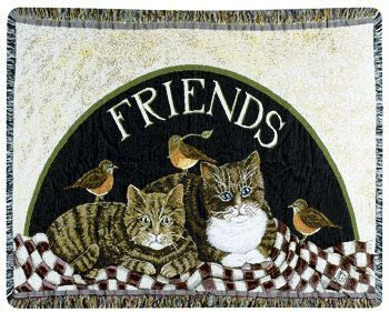 Mini Tapestry - Friends/D. Swartz Throw