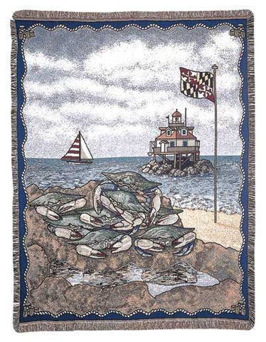 Tapestry - Maryland Blue Crab Throw