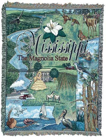 Tapestry - State Of Mississippi Throw