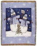 Tapestry - Even Snowmen Get The Blues Throw