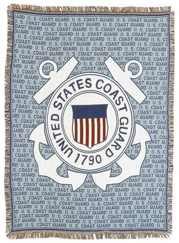 Tapestry - Coast Guard Throw
