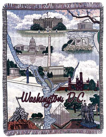 Tapestry - Washington Dc Throw