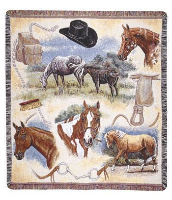 Tapestry - Western Flavor Throw