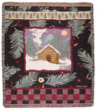 Tapestry - Cabin Plaid Throw